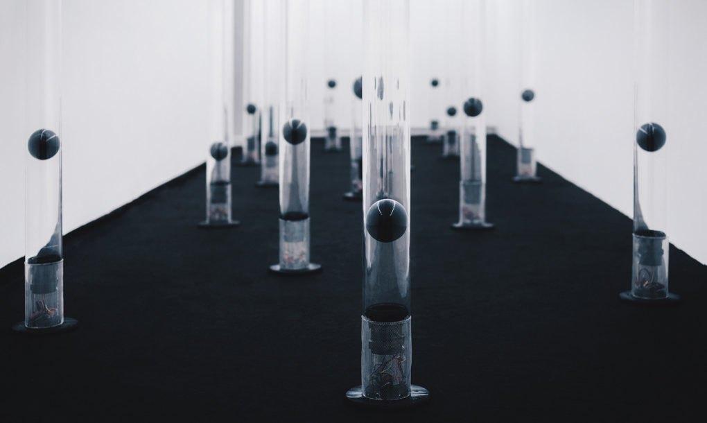 Instalação artística mostra, por meio de sons, quantidade de CO2 que é emitida no mundo a cada instante