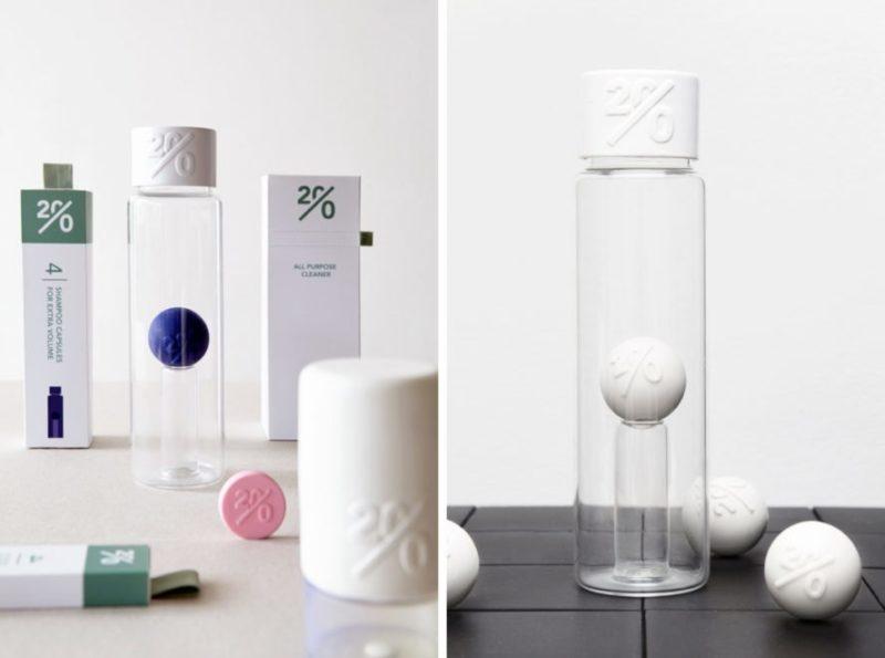 Designer holandesa cria produtos de limpeza com embalagem zero