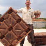Paletes biodegradáveis feitos de coco reciclado salvam mais de 200 milhões de árvores por ano