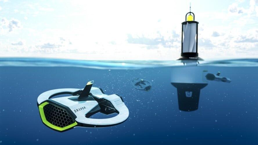 Draper Drone: conheça a tecnologia que ajuda a reduzir microplástico nos oceanos