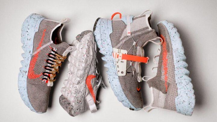 Nike lança tênis feito a partir de plástico reciclado