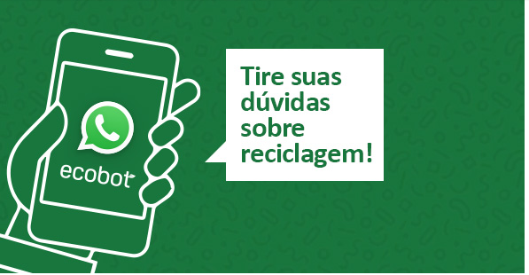 Robô responde dúvidas sobre reciclagem pelo Whatsapp