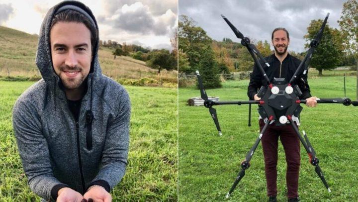 Empresa recruta drones para plantar 40 mil árvores em região destruída por incêndio