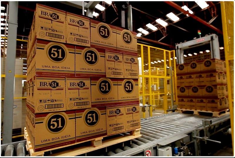 90% das Cachaças 51 são comercializadas em embalagens retornáveis