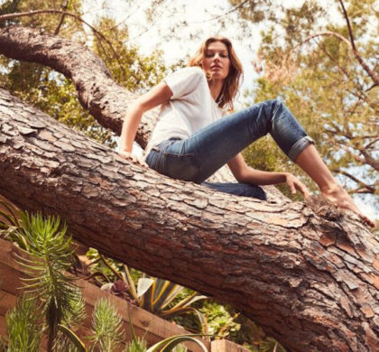 Gisele Bündchen celebra seus 40 anos com o plantio de 40 mil árvores na Amazônia