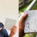 Indiano transforma EPIs de hospitais em tijolos ecológicos