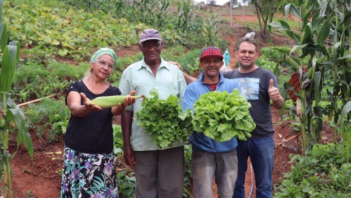 """Projeto """"Horta da Família"""" garante independência financeira e segurança alimentar a moradores de Rio Doce"""