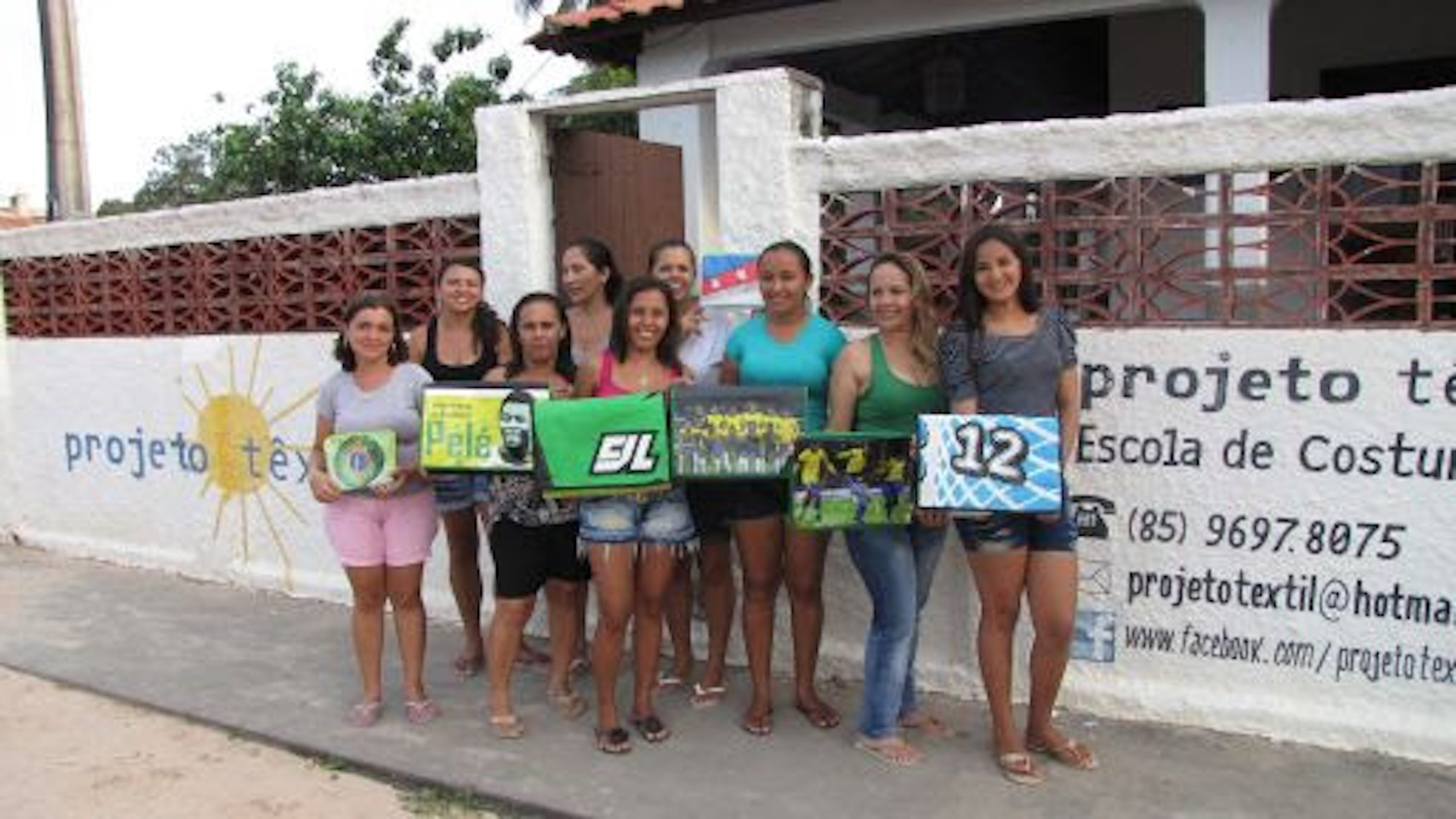 Projeto oferece oficinas de profissionalização para mulheres no Ceará